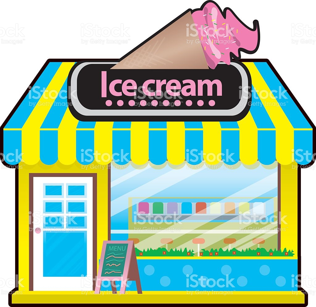 Ice cream shop clipart 8 » Clipart Station.