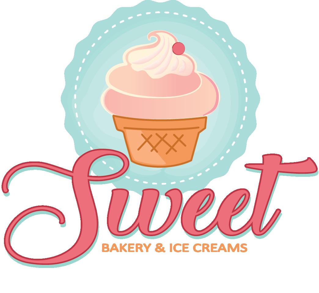Bakery And Ice Cream Shop Logo Design.