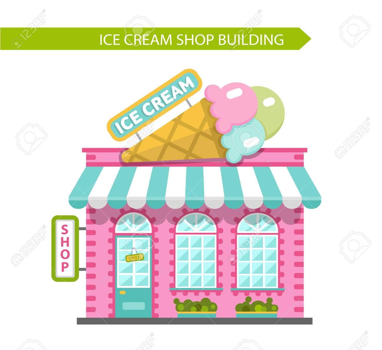 Ice Cream Shop Clipart (106+ images in Collection) Page 3.