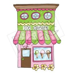 131 Best Ice Cream Parlor Clipart images in 2015.