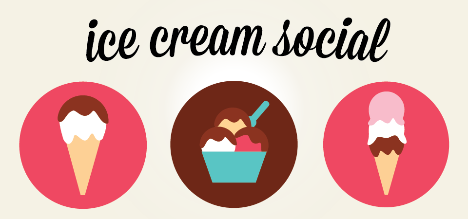 Ice Cream Social Image.