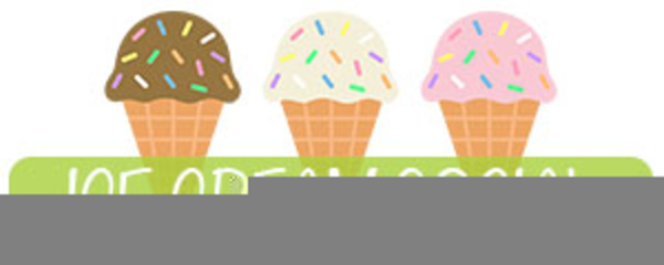 Ice Cream Social Clipart Free.