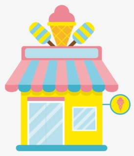 Free Ice Cream Shoppe Clip Art with No Background.