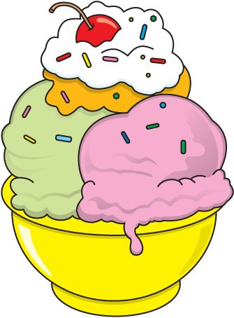 New Ice Cream Clip Art Free Free Clip Art Ice Cream Sundae.