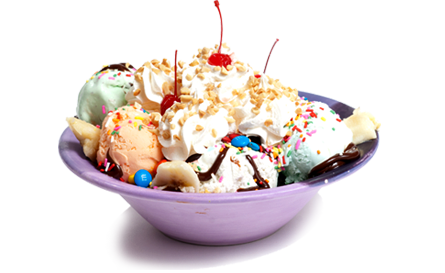 Download Free png Ice Cream Sundae PNG Transparent Picture.