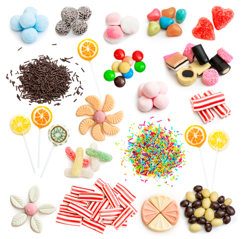 Ice Cream Toppings Clipart.