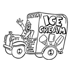 dot to dot ice cream coloring coloring page.