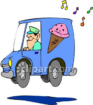 ice cream truck clip art.