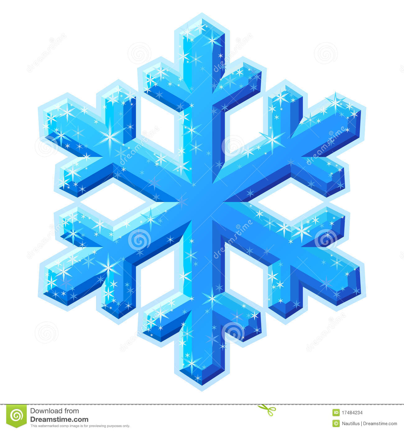 Gallery For > Ice Crystals Clipart.