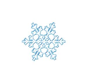 Ice crystal clipart.