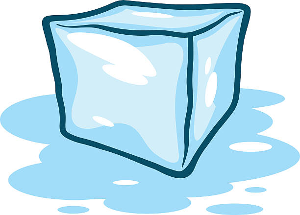 A vector illustration of an Ice Cube melting. » Clipart Station.