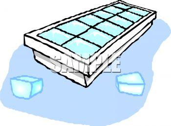 Ice Tray Clipart.