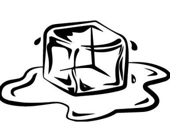 Ice cube clipart black and white 1 » Clipart Station.
