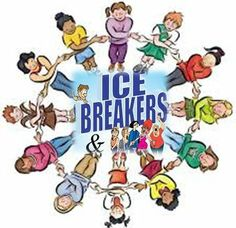 Breaking ice clipart.