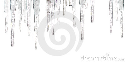Ice Cycles Stock Photography.