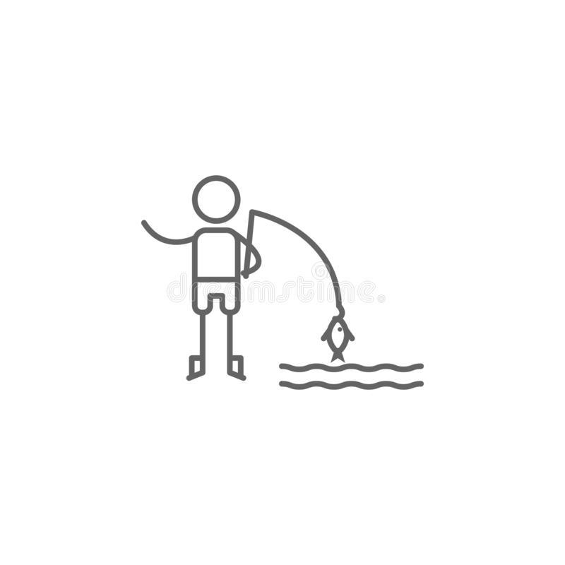 Ice Fishing Stock Illustrations.