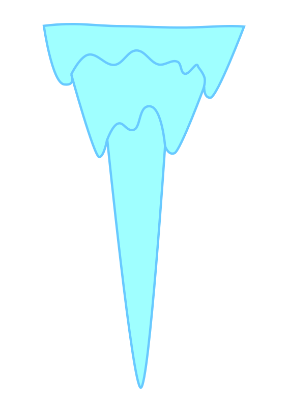 Free Icicle Clip Art.