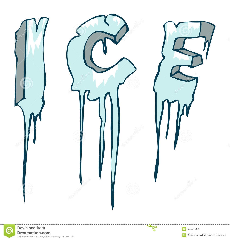 Frozen ice clipart.