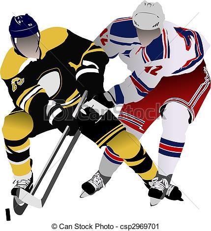 Ice hockey clipart free.
