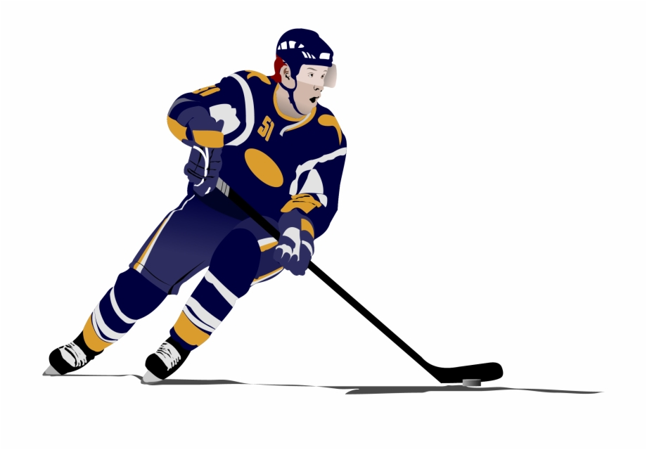 Ice Hockey Stick Clipart.