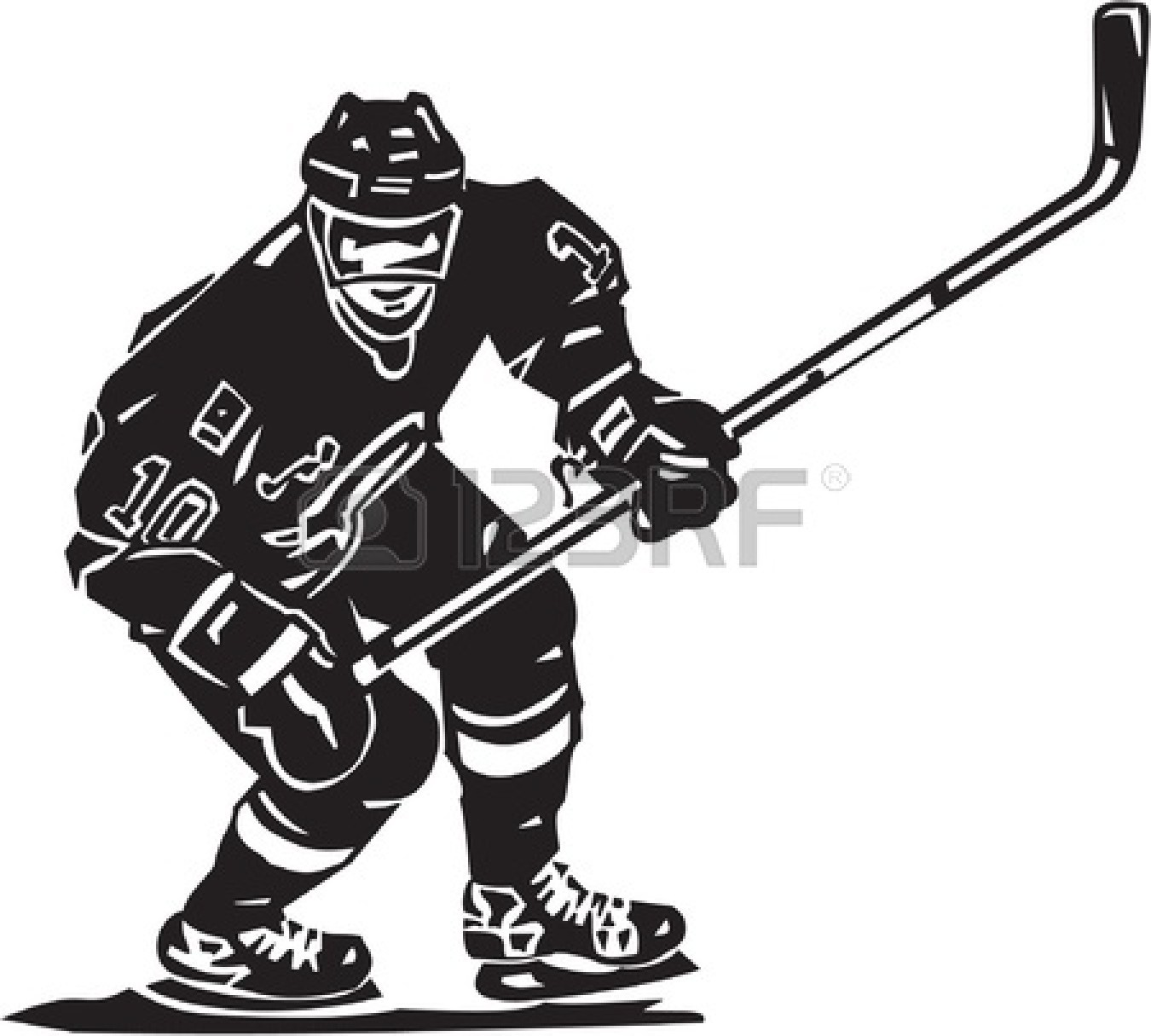 Hockey Player Clip Art & Hockey Player Clip Art Clip Art Images.
