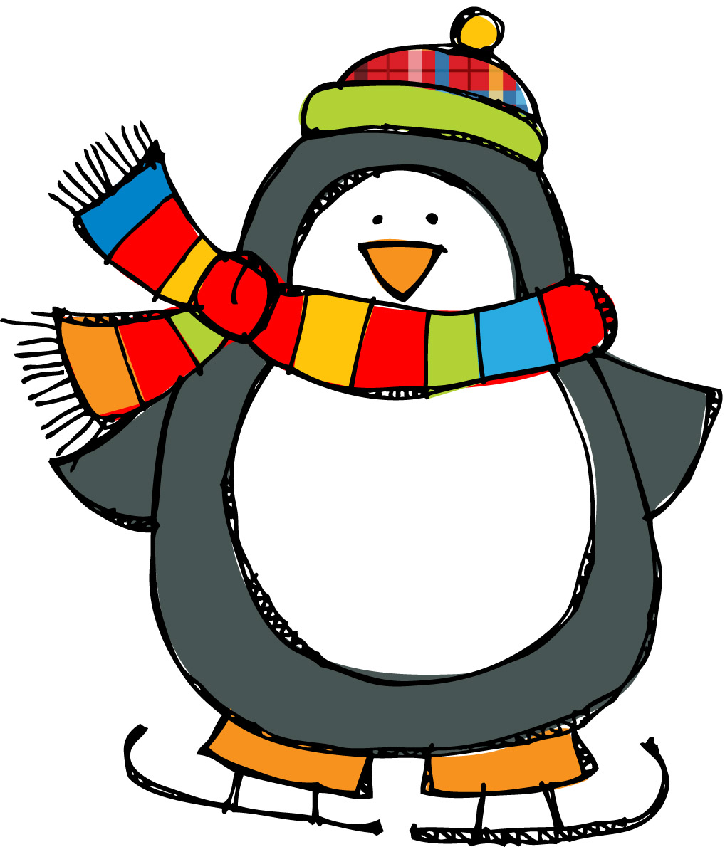 number 5 winter clipart #19