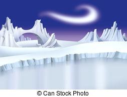 Arctic landscape Stock Illustration Images. 911 Arctic landscape.