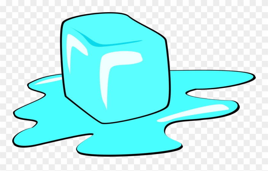Ice Cube Drawing.