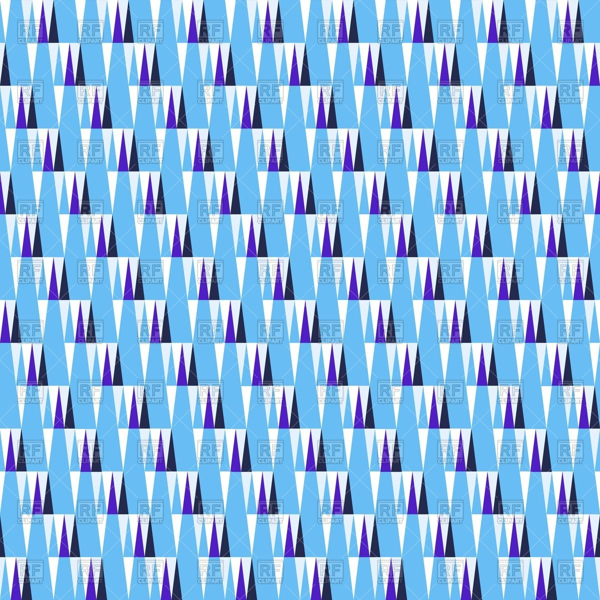 Seamless pattern with ice icicles Vector Image #61088.