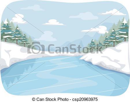 Ice pond clipart 7 » Clipart Portal.