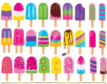 Ice pop clipart.