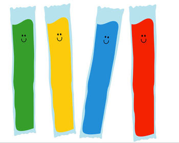 Ice Pops Clipart.