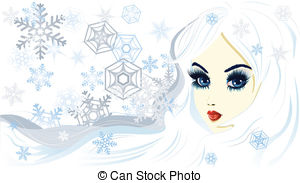 Ice princess Vector Clip Art Illustrations. 303 Ice princess clipart.
