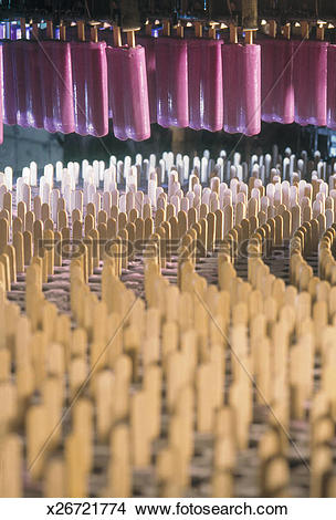 Stock Photo of Popsicle production in ice cream factory x26721774.