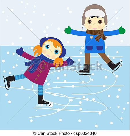 Ice skating Clip Art and Stock Illustrations. 9,619 Ice skating.