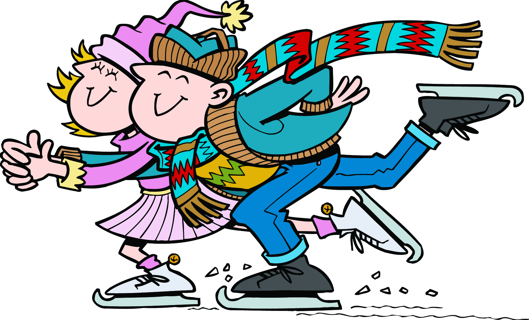Ice rink clipart #9