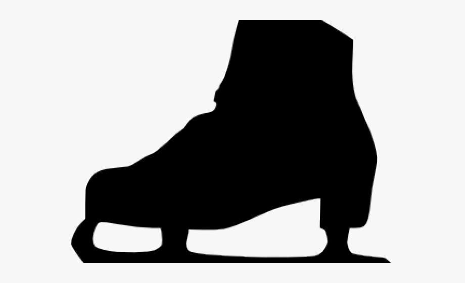Ice Skates Clipart.