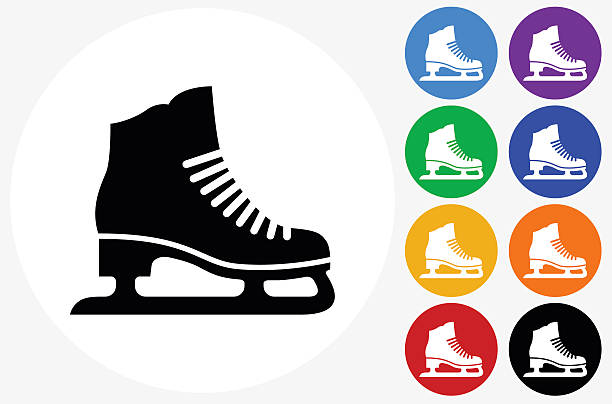 Best Ice Skate Illustrations, Royalty.