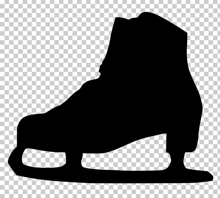 Ice Skating Roller Skating Silhouette PNG, Clipart, Animals, Black.