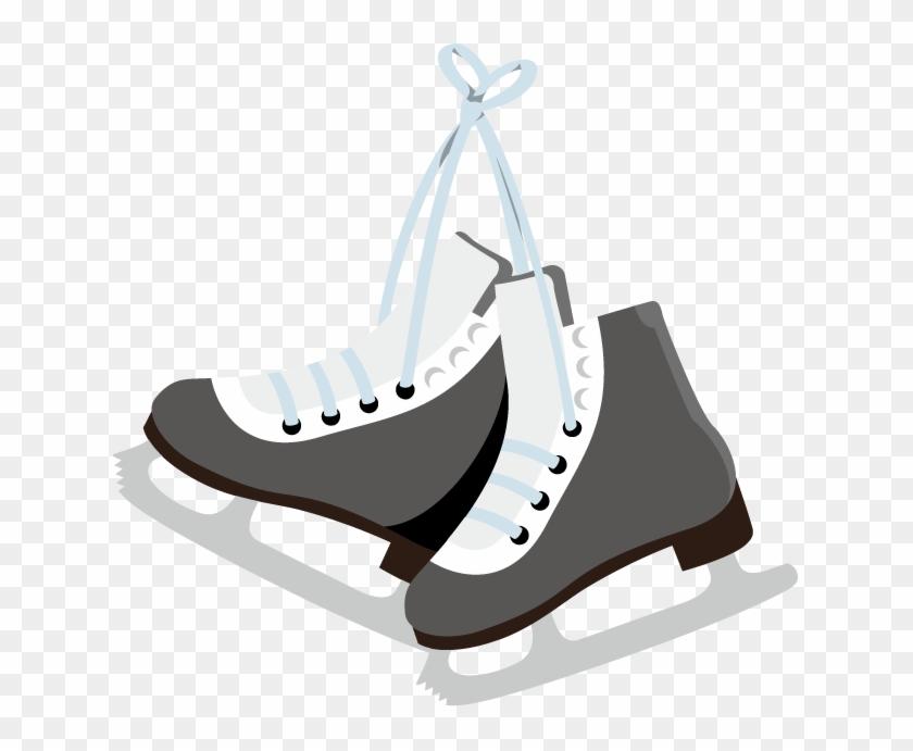 Clip Art Hockey Skates.