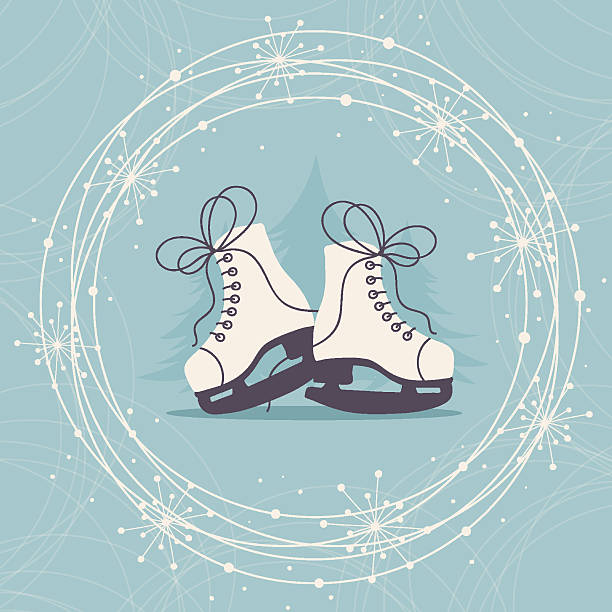 Best Ice Skate Illustrations, Royalty.