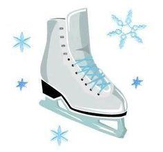 14+ Ice Skates Clipart.