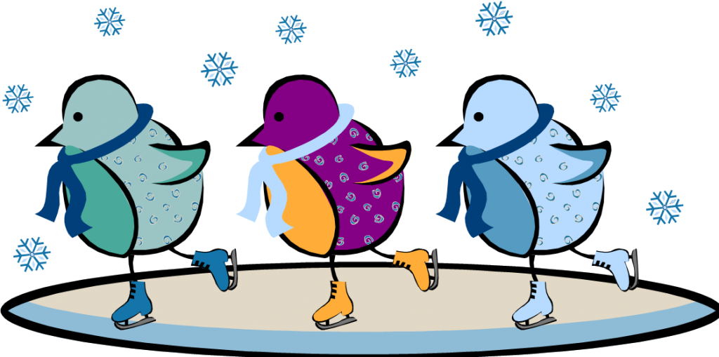 Penguin clipart ice skating, Penguin ice skating Transparent.