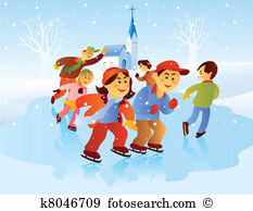Ice skating Clipart EPS Images. 7,562 ice skating clip art vector.