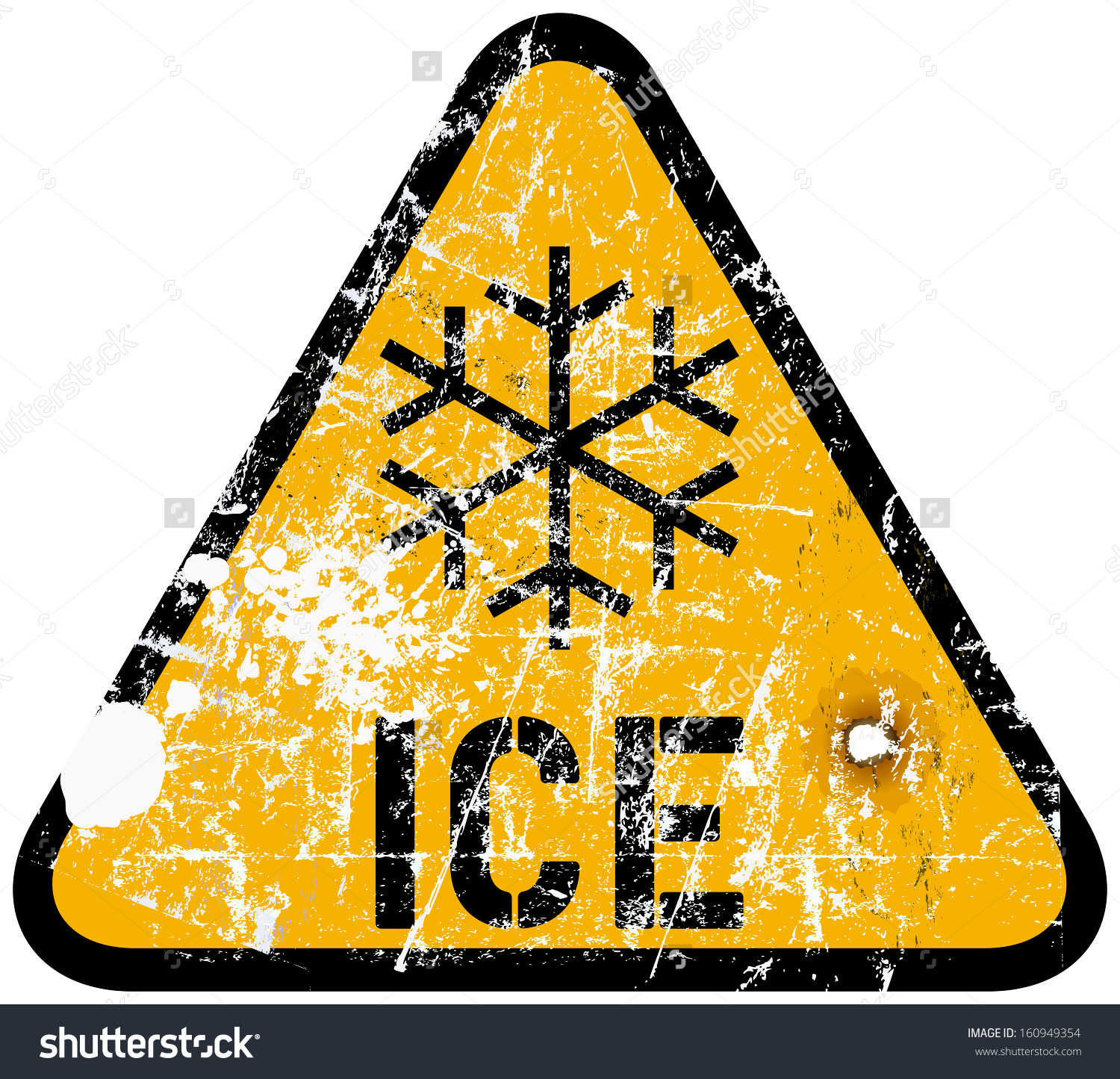 Ice storm clipart.