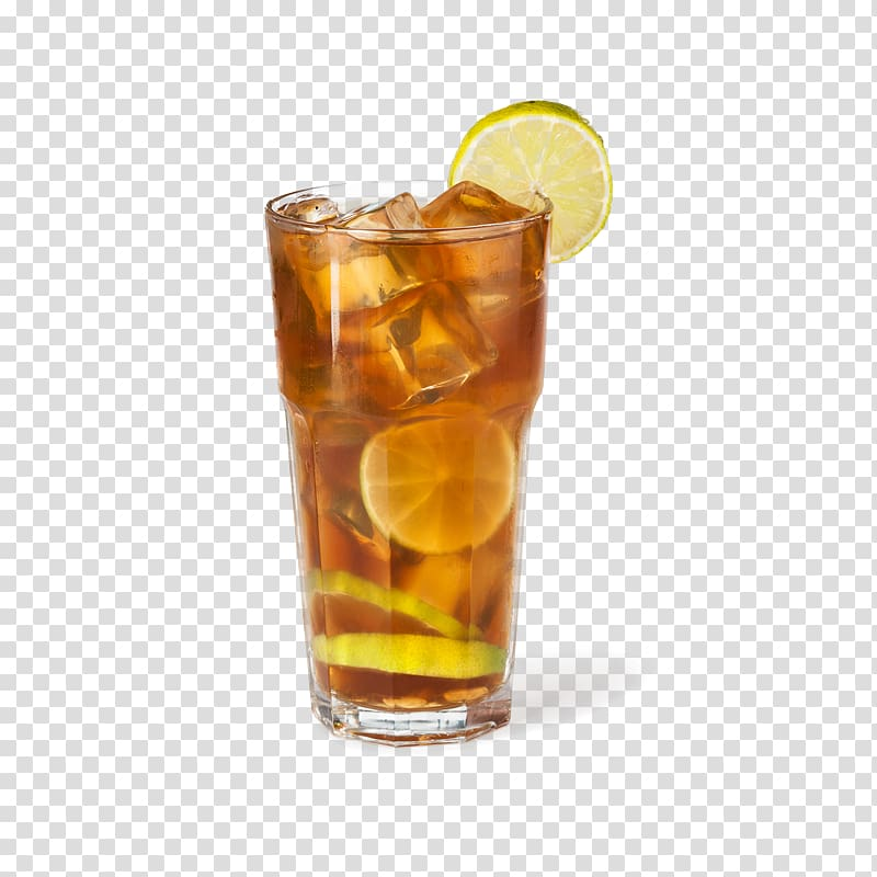 Lemon flavored tea glass, Long Island Iced Tea Juice Iced coffee.