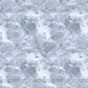 Ice texture seamless pattern, vector illustration.