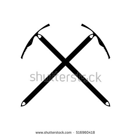 Ice tools clipart #3