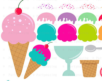 Ice cream scoop clipart.