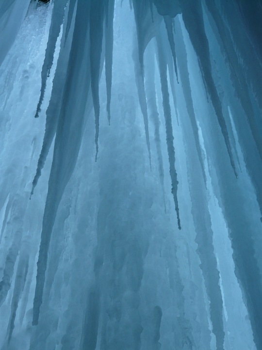 Free photo: Ice Curtain, Icicle, Ice Formations.
